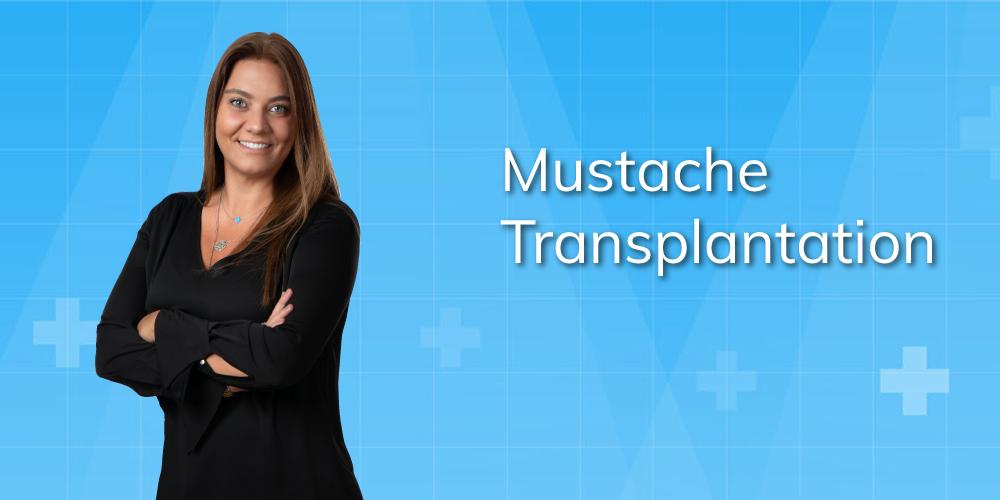 mustache transplantation