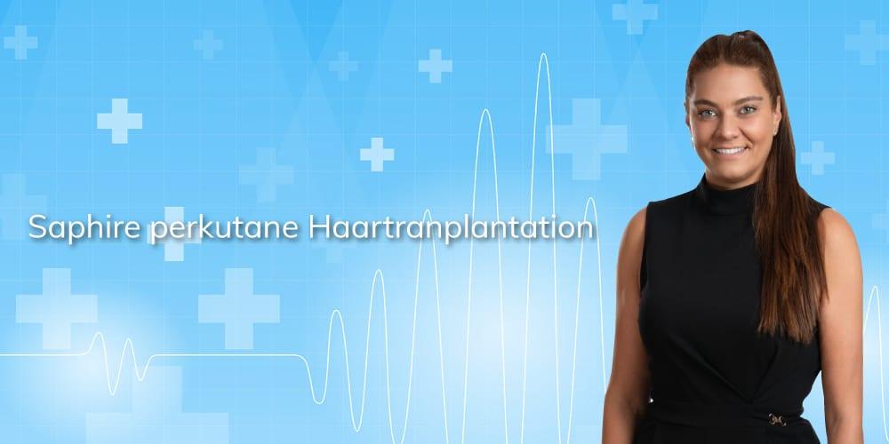 Saphire perkutane Haartransplantation