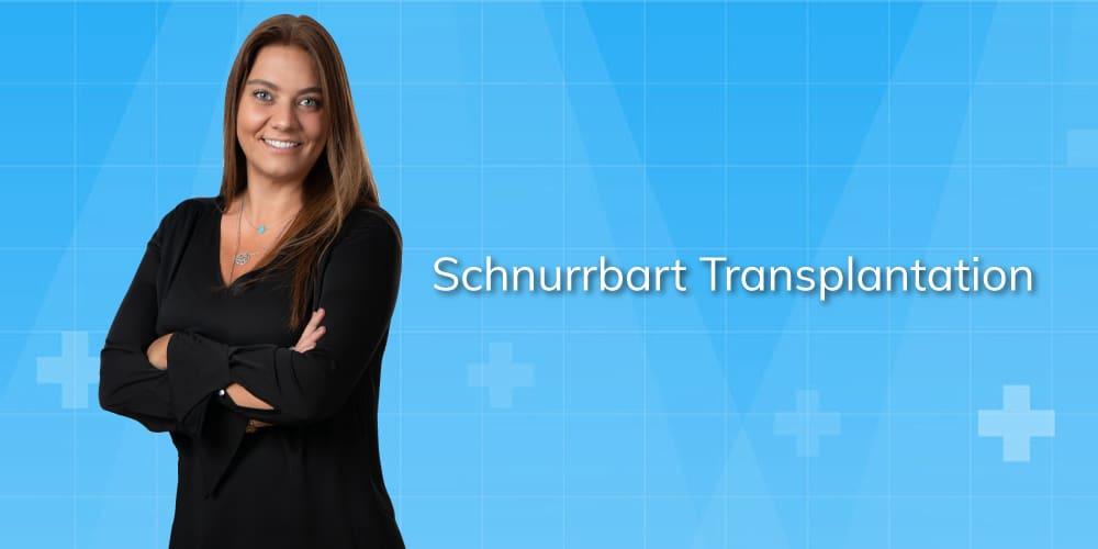 schnurrbart transplantation